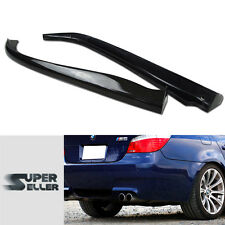 CARBON FIBER BMW 5-SERIES E60 M5 DTO TYPE BODY KITS REAR LIP BUMPER SPLITTER