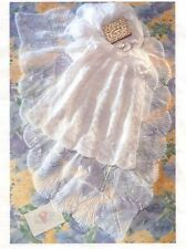 KNITTING PATTERN - BABY CHRISTENING ROBE/DRESS & MATCHING SHAWL IN 3-PLY