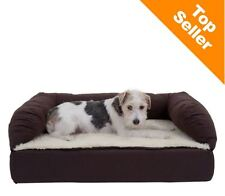 Orthopaedic Dog Bed Memory Foam Pain Relief Sofa Couch Pet Pillow Elderly Small
