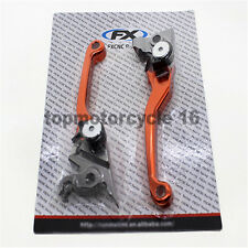 Orange CNC Pivot Brake Clutch Lever For KTM 450 SX / SX-F / SX-R 2003-2008 06 07