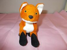 BUCKET PET RESCUE BEAN FOX SOFT TOY 1997 in Good Used Condition
