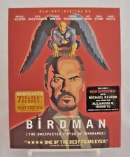 Birdman (Blu-ray/Digital HD, 2015) NEW w/ OOP HTF Gated Slipcover and Red Case!