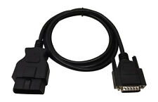 OBDII EOBD Scantool Scanner Code Reader Replacement Cable 5-FT