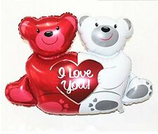 Valentine's Day - Love You Teddy Bears Happium 28'' 93cm Foil Balloon
