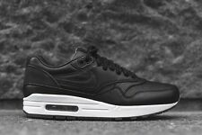 NIKELAB AIR MAX 1 PINNACLE BLACK UK 6.5 NEW QS LEATHER BNIB AUTHENTIC 859554 001