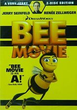 BEE MOVIE (2007) A Very Jerry Two-Disc Edition DVD Set Jerry Seinfeld SEALED