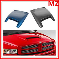 Dodge Ram Charger Mustang Camaro Universal ABS Paintable Hood Scoop