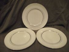 Set of 3 Royal Doulton Tiara Dinner Plates