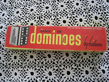 Dominoes by Halsam Set # 623 in Box Set 28 Building on Back