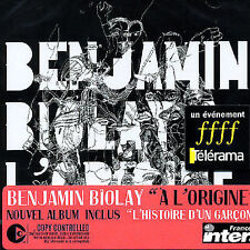 Biolay, Benjamin LOrigine CD