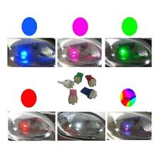 1 X PAIR BLUE 6 LED SIDELIGHT BULBS 501 W5W T10 UK SELLER QUICK DISPATCH