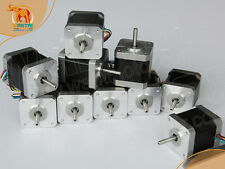 DE Delivery! 10PCS Nema17 Stepper Motor 42BYGHW609 4000g.cm 1.7A 40mm 4-Lead 2Ph
