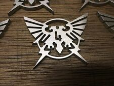 WarHammer Objective Markers - Pre-Heresy Eagle - Stainless Steel - 30mm