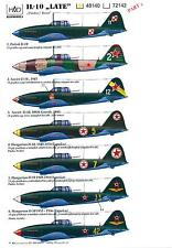 Hungarian Aero Decals 1/48 ILYUSHIN IL-10 LATE VERSION Soviet WWII Bomber Part 2