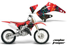 AMR Racing Honda CR 125/250 Shroud Graphic Kit Bike Sticker Decals 02-08 ZOMBIE