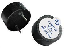 2x Zumbador activo 5v buzzer 12mm magnetico continuo alarma, proyectos, arduino