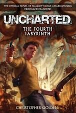 Uncharted: The Fourth Labyrinth, Golden, Christopher, Acceptable Book