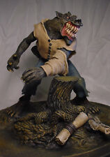 Monster Squad Style WEREWOLF STATUE w PROFESSIONAL BUILD & PAINT Rare
