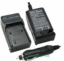Fast Charger for Canon FS100 FS200 FS100 FS300 FS40 FS400 Flash Memory Camcorder