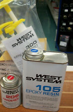 West System Epoxy Kit  105 Resin Quart, 206A Hardener Pint, and Pump Set WEST4U