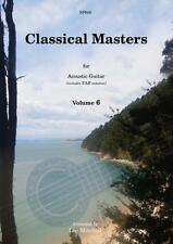 Classical Masters for Acoustic Guitar Volume 6 SP946