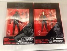 Star Wars Black Series IMPERIAL DEATH TROOPER & SERGEANT JYN ERSO Exclusive 3.75