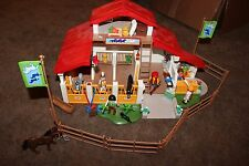 Rare Playmobil Deluxe Horse Farm Pony Ranch Adventure Set 4190 Retired READ
