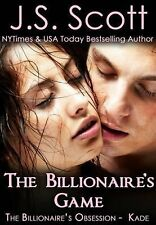 Billionaire's Obsession: The Billionaire's Game by J. S. Scott (FREE 2DAY SHIP)