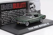 1968 Ford Mustang GT Steve Movie McQueen Bullit grün 1:43 Greenlight