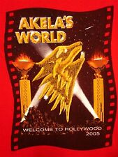 AKELA'S WORLD Cub Scout Camp youth med T shirt BSA Hollywood theme tee 2005