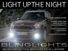 MINI Cooper Paceman R61 Xenon Halogen Fog Lamps Driving Lights Kit with Harness