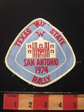 San Antonio Texas Alamo Patch 1974 TX State WIT Rally Winnebago Intl. Rally 67WO