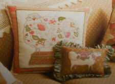 BH&G 1983 Janet McCaffery CREWEL SHEEP Stamped Embroidery Pillow Quilt Square
