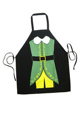 Elf THE MOVIE Character Apron KITCHEN Cooking CHEF PINAFORE Food WILL FERREL