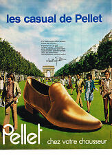 PUBLICITE ADVERTISING  1978   PELLET  chaussures  CASUAL