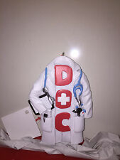 Doctor Doc Office Coat Lab Coat w Stethascope Christmas Wall Hanging Ornament