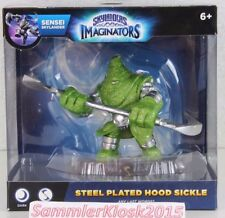 Steel Plated Hood Sickle Skylanders Imaginators Sensei - Element Dark Variante