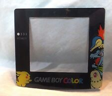 Game Boy Color (GBC) Screen Protector (Lens)- Pokemon/Pikachu SilverGold [4C,R]