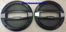 """2 FOCAL 6.5"""" SPEAKER COVERS PROTECTIVE GRILLS  NEW PAIR AUDITOR Will Fit Others"""