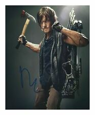 NORMAN REEDUS - THE WALKING DEAD AUTOGRAPHED SIGNED A4 PP POSTER PHOTO