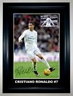 Cristiano Ronaldo Real Madrid Soccer A3 Framed Signed Photo Collage