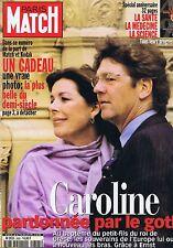 Couverture magazine,Coverage Paris-Match 29/04/99 Caroline de Monaco