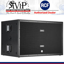 """RCF SUB 8006-AS Dual 18"""" ACTIVE HIGH POWER SUBWOOFER 5000 Watts PA / Live Sound"""