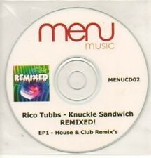 (496K) Rico Tubbs, Knuckle Sandwich EP 1 - DJ CD