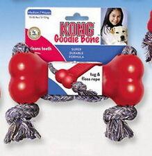 1 Kong Goodie Bone M mit Seil-für Hunde 5 bis 15 kg