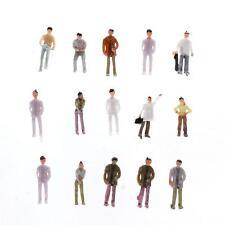 100pcs 1:75 Personne Personnage Passager Paints Train Modèle Figure Maquette