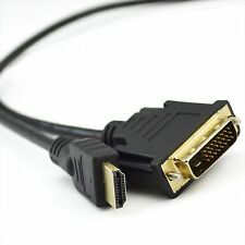 10M Gold Plated HDMI TO DVI-D 24+1 Pin Digital Cable Lead For HDTV LCD BluRay
