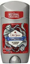 2 Pack Old Spice WOLFTHORN Anti-Perspirant & Deodorant 2.6 Oz Each