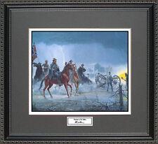 Mort Kunstler THUNDER IN THE VALLEY Framed Print Civil War Wall Art Gift