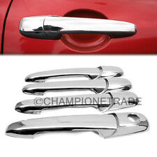 ABS Triple Chrome Door Side Handle Cover Trim for 02-11 Ford Fusion Mazda 2 CT